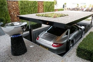 Automobile Elevator Car Lift Residentail Car Lift
